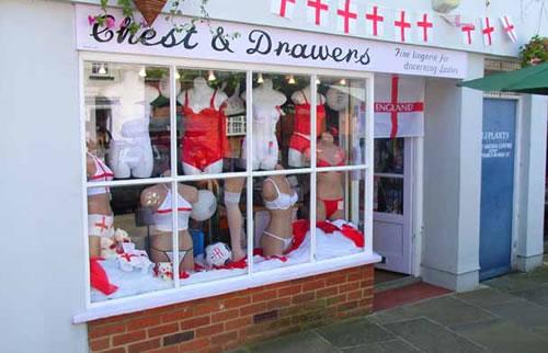 The lingerie shop