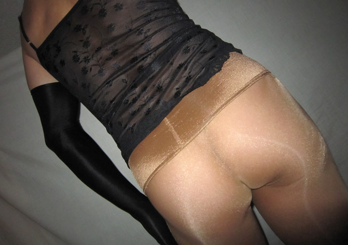 Sheery wearing Krystelle 30 Seamless pantyhose