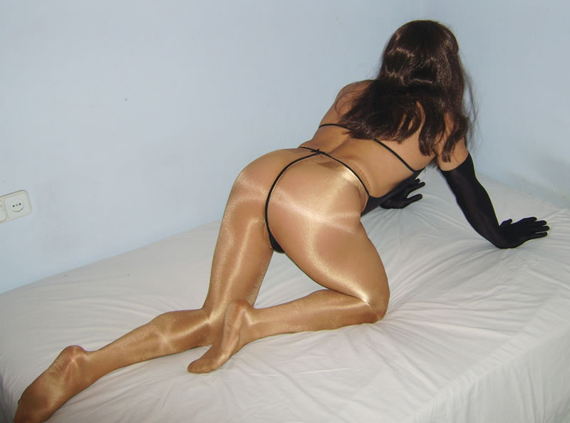 Wolford pantyhose and string teddy