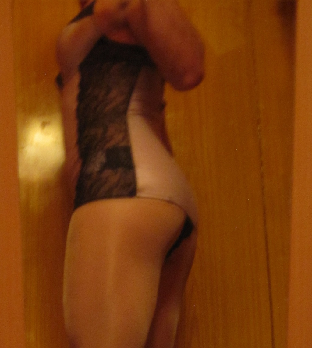 Selfie in Lingerie and Pantyhose